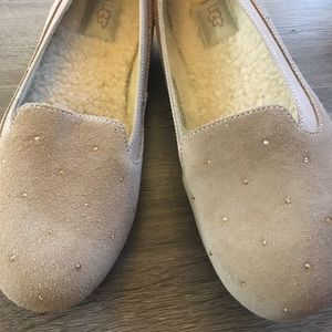NWT Ugg Suede Ballet Style Flats